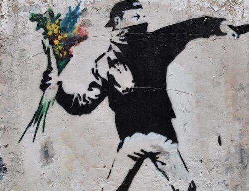 L'arte della ribellione dell'ignoto Banksy