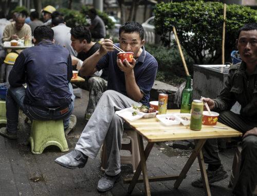In Cina come se non fosse successo nulla