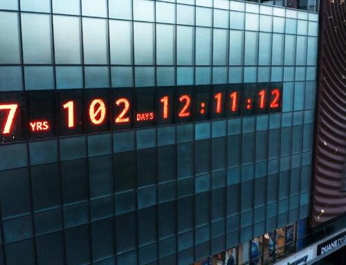 Salvezza della terra: è iniziato il countdown