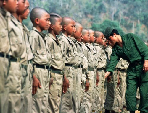 I bambini soldato vergogna dell'umanità