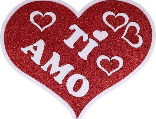 Un bacio come messaggero d'amore