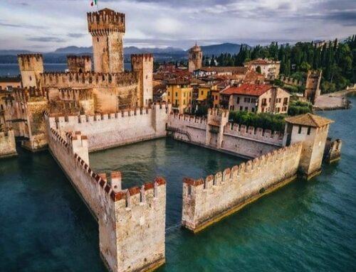 Sirmione, magnifico castello sul lago di Garda