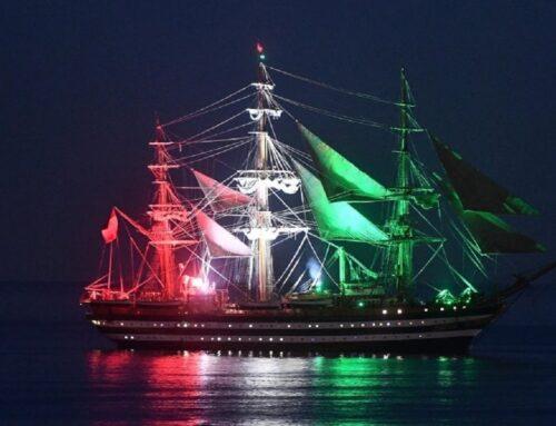 """""""Vespucci, sei la nave più bella del mondo"""""""
