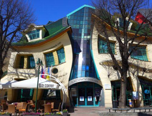"A Sopot (Polonia) la suggestiva ""Casa ubriaca"""