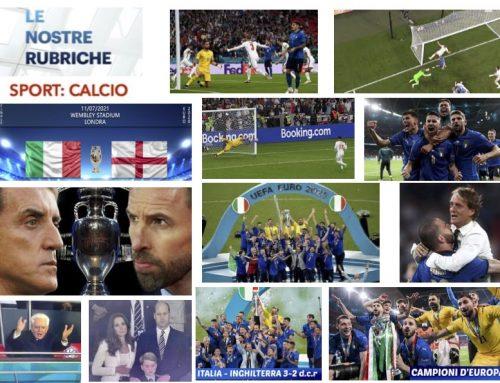 Italia Inghilterra 3 a 2 d.c.r. – Siamo campioni d'Europa!
