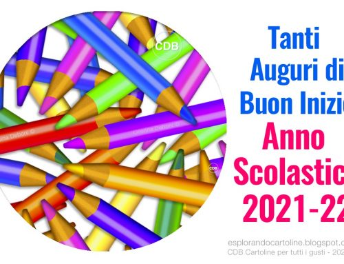 Giovedì 16 settembre è iniziato un nuovo anno scolastico: i miei propositi.