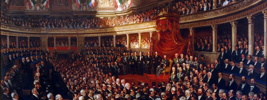 il primo parlamento italiano quasi 160 anni fa il punto