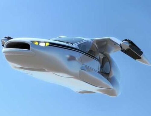 Anche le auto volanti avranno l'aeroporto