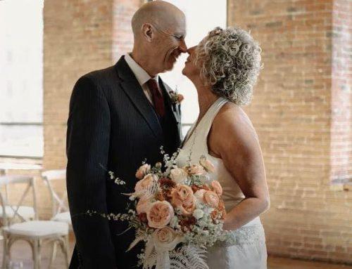 Lui ha l'Alzheimer e lei lo sposa due volte