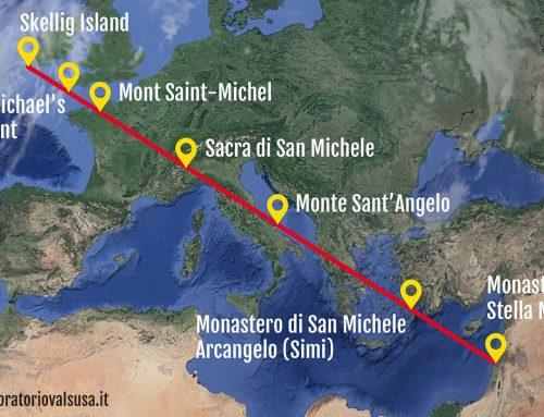San Michele, una linea che unisce 7 santuari