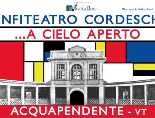 Musica e teatro: riapre l'Anfiteatro Cordeschi