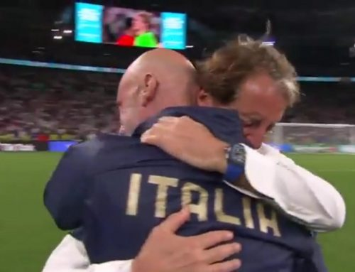 """""""It's coming home"""". Sorry, """"It's coming Rome…"""""""