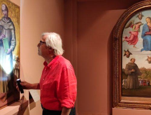 Sgarbi rende merito al Perugino, maestro di Raffaello