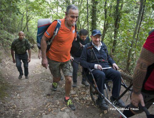 Viterbo, a 97 anni torna sulla vetta della Palanzana