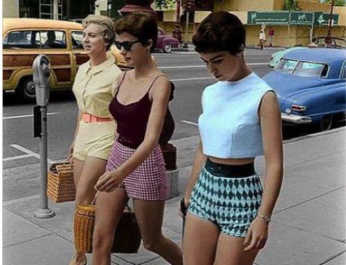 Le nonne, 50 anni fa, vestivano meglio di noi