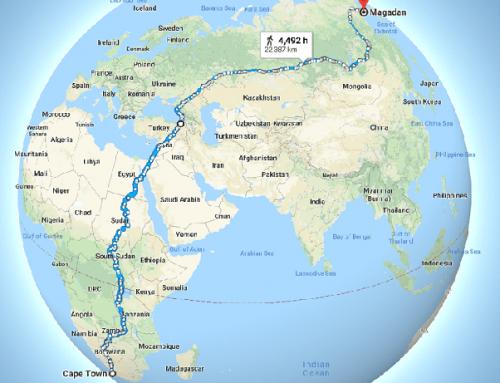 Il viaggio a piedi più lungo del mondo