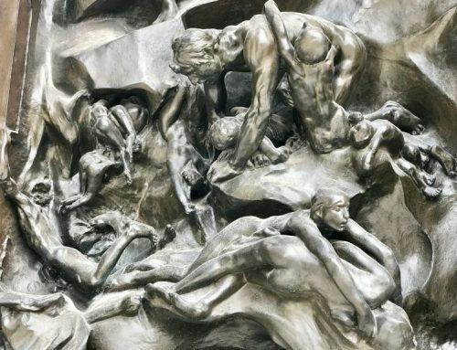 La Porta di Rodin per l'omaggio a Dante