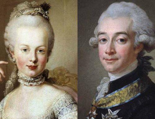 Maria Antonietta e il conte von Fersen, amanti a corte