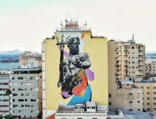 Quel murale di Nettuno tra storia e leggende