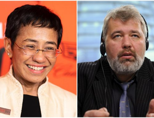 Nobel per la pace a due coraggiosi giornalisti